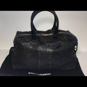 Authentic yves Saint Laurent easy Boston satchel